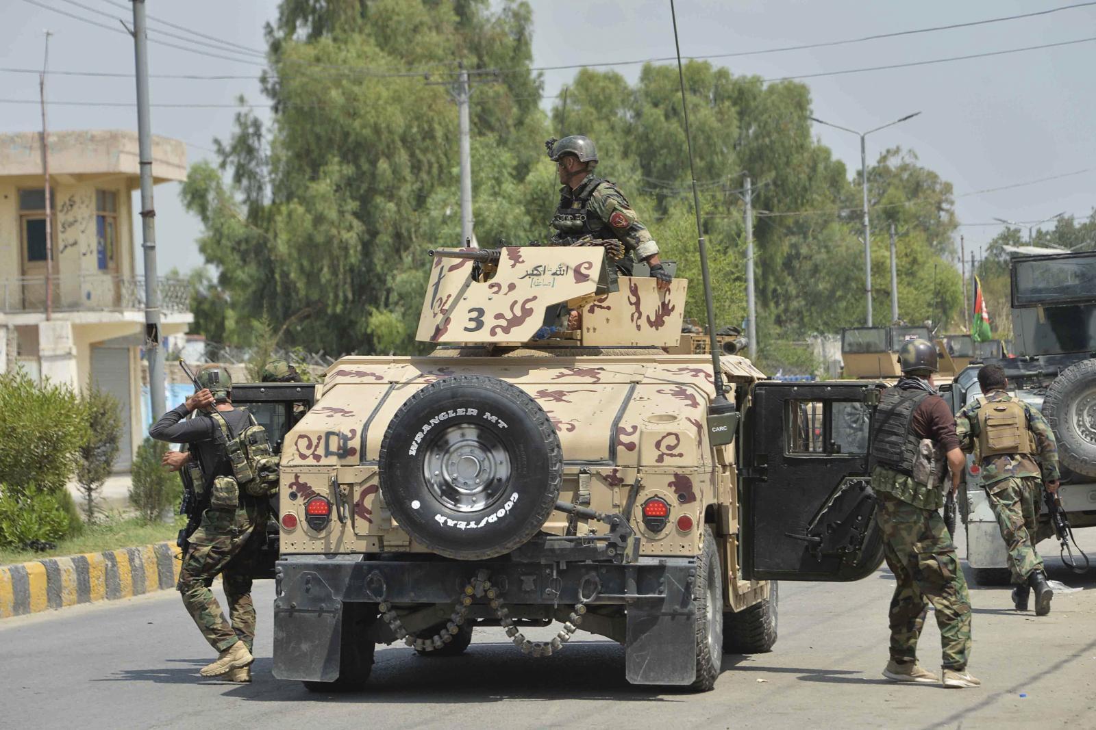 ไอเอสโจมตีเรือนจำอัฟกานิสถาน นักโทษฉวยโอกาสแหกคุก