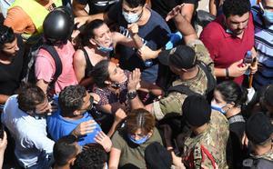 ชาวเลบานอน ลุกฮือไล่รัฐบาล จี้รับผิดชอบเหตุระเบิดท่าเรือเบรุต