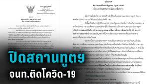 จนท.สถานทูต ในบาห์เรน ติดโควิด-19 กระทบคนไทยเดินทางกลับ