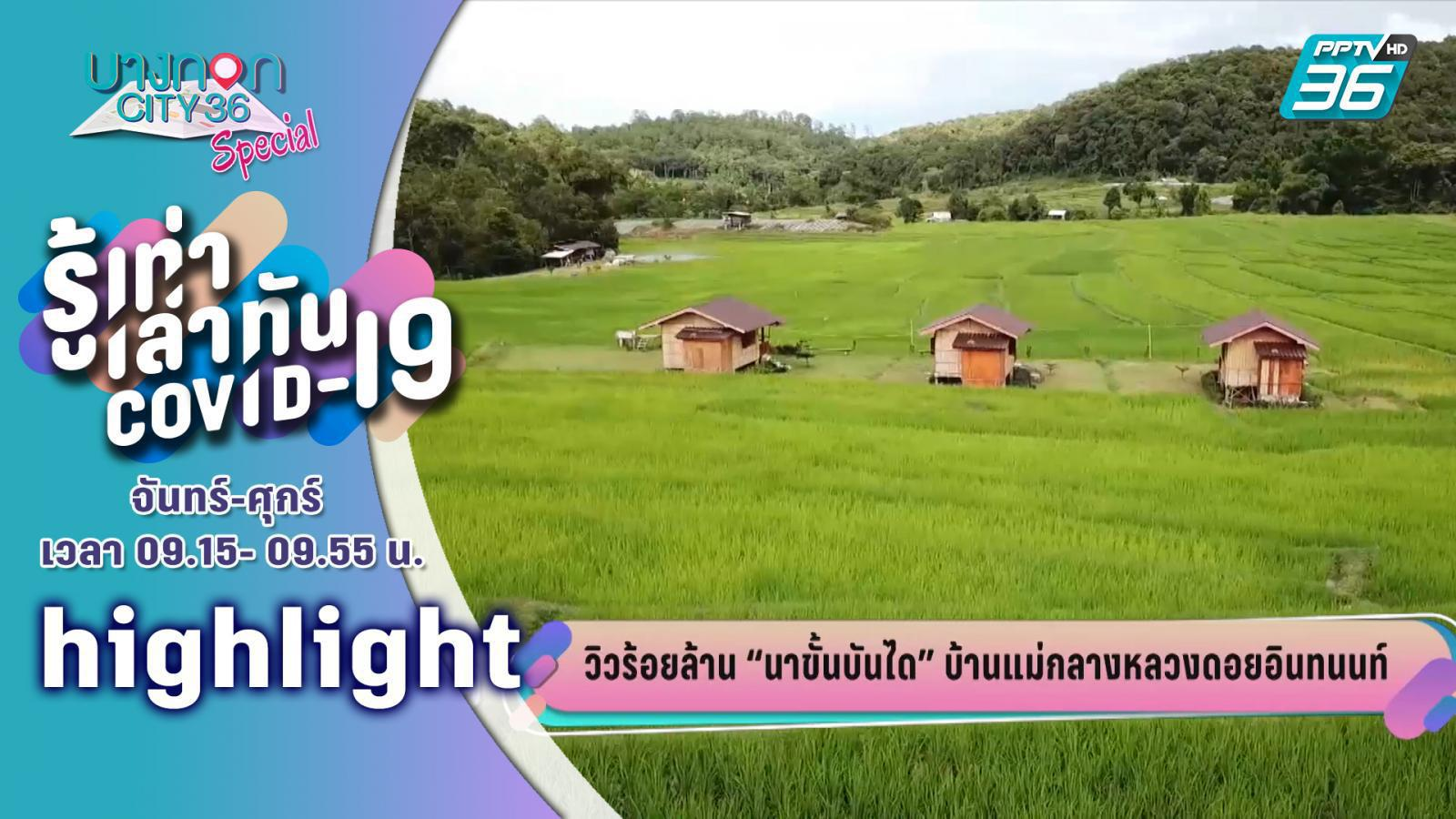 บางกอกซิตี้ เลขที่ 36 |  นาขั้นบันไดบ้านแม่กลางหลวงดอยอินทนนท์ พร้อมรับนักท่องเที่ยว  | PPTV HD 36