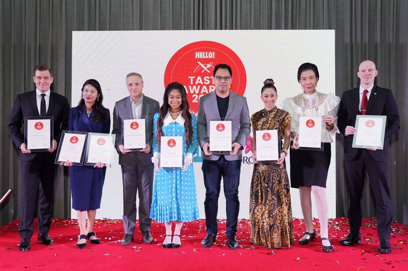 นิตยสาร HELLO! ประเทศไทย จัดงาน HELLO! Taste Awards 2020 มอบรางวัลสุดยอดร้านอาหารในดวงใจของเหล่าเซเลบริตี้นักชิม ครั้งแรกของการรวม 250 ร้านดังทั่วกรุงเทพฯ ในเล่มพิเศษ HELLO! Taste Guide 2020