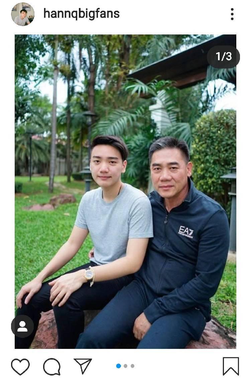 """เปิดภาพ """"แฮน ชัยจินดา"""" ลูกชายคนเล็ก ผบ.ตร. เข้ากรมเป็นทหารเกณฑ์"""
