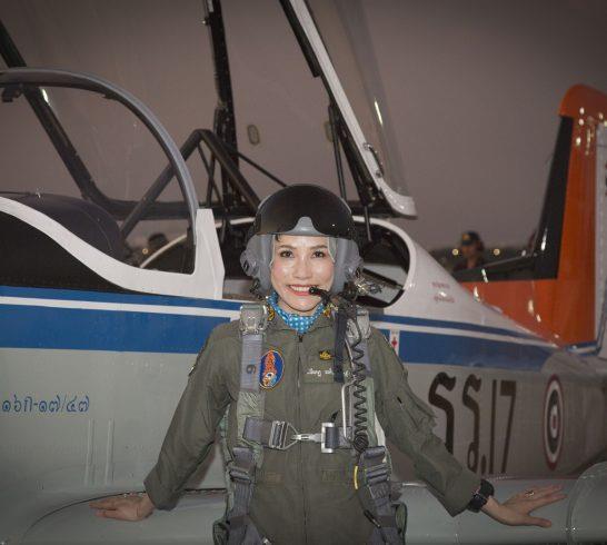 'เจ้าคุณพระสินีนาฏ พิลาสกัลยาณี' นายทหารหญิง นักบิน ราชองครักษ์ฯ