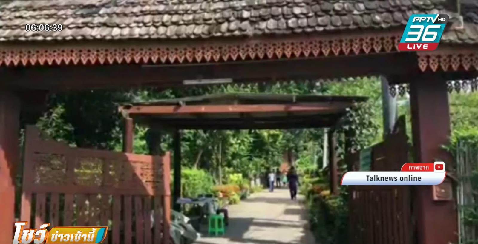 ดารา-ทีมงานหนีตาย บ้านทรงไทยถ่ายละครพังถล่ม