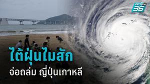 เกาหลี-ญี่ปุ่น เตรียมรับไต้ฝุ่นไมสัก แรงเท่าเฮอริเคนระดับ 4 คลื่นสูง 12 เมตร