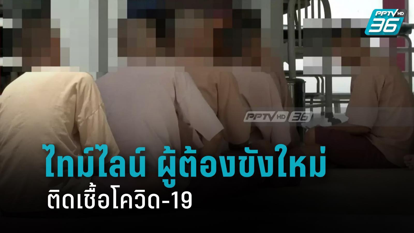 เปิดไทม์ไลน์ ผู้ต้องขังคดียาเสพติด พบติดโควิด-19