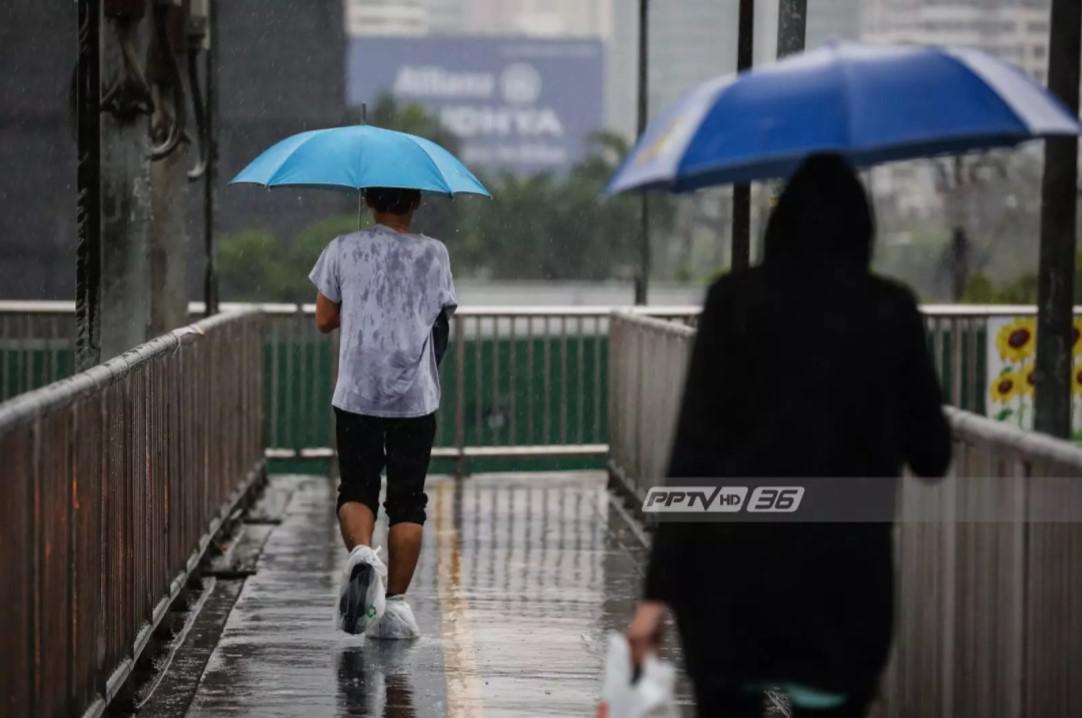อุตุฯ เผย กรุงเทพฯฝนตกร้อยละ 60 ของพื้นที่