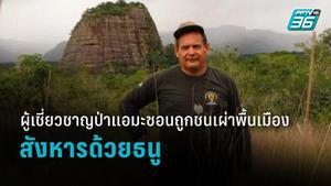 ผู้เชี่ยวชาญด้านป่าแอมะซอนถูกคนพื้นเมืองยิงด้วยธนู