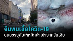 จีนพบเชื้อโควิด-19 บนบรรจุภัณฑ์ปลาหมึกนำเข้าจากรัสเซีย