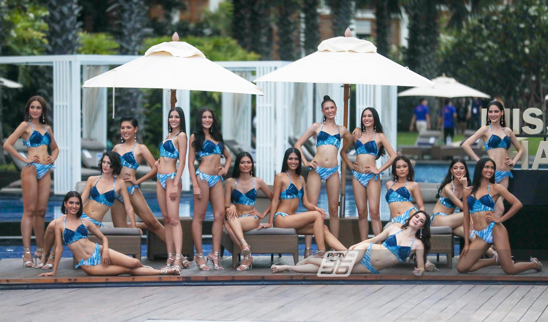 30 สาวงาม MUT 2020 รอบการประกวดชุดว่ายน้ำ