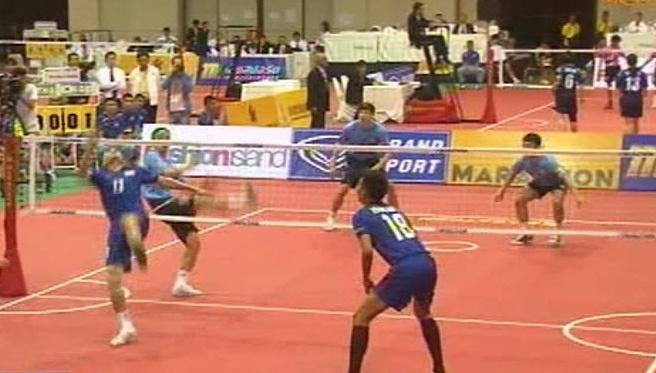ทีมตะกร้อไทยคว้าแชมป์ 6 ประเภทรวดคิงส์คัพ
