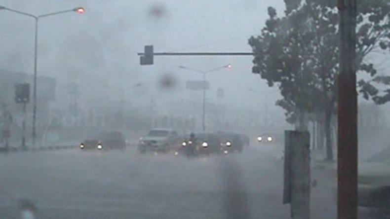 อุตุฯ เผยใต้ฝนหนักบางแห่ง ส่วนภาคอื่น ฝนกระจาย กทม.ตกร้อยละ 30