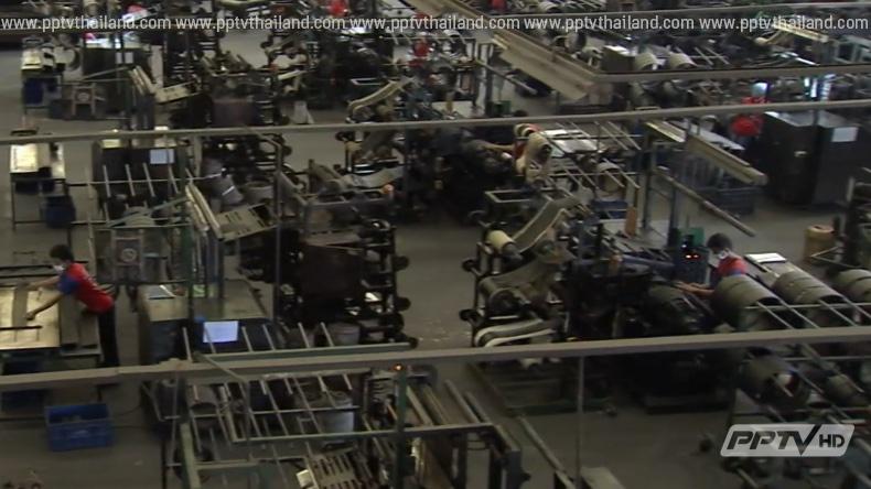เผยดัชนีผลผลิตอุตสาหกรรมไทย ต่ำสุดรอบ 40 เดือน