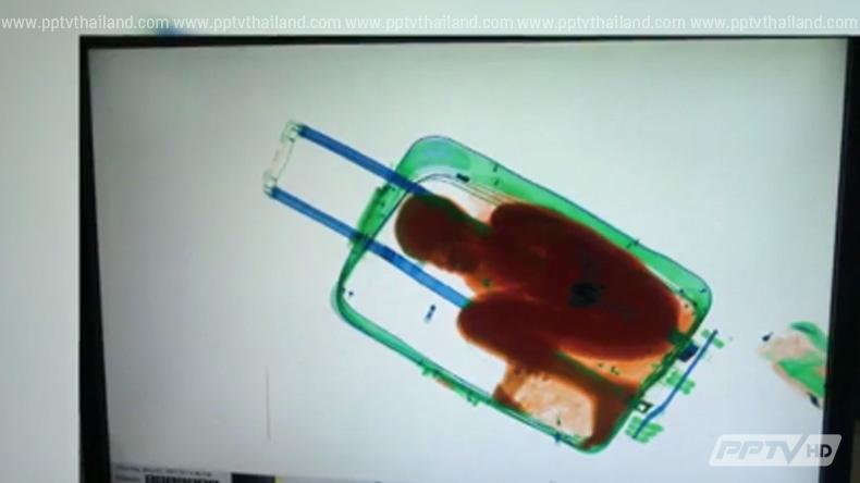 พ่อแม่ซ่อนลูก 8 ขวบในกระเป๋าเดินทางลอบเข้าสเปน