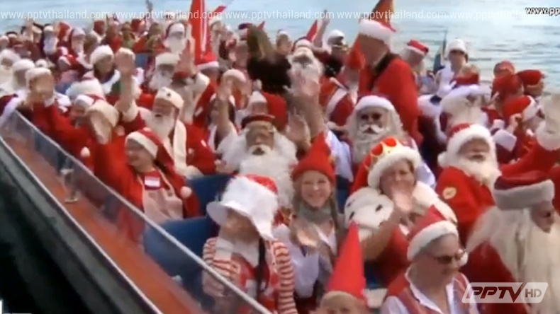 เดนมาร์กจัดประชุมซานตาคลอสโลกรับคริสมาตส์ปีนี้