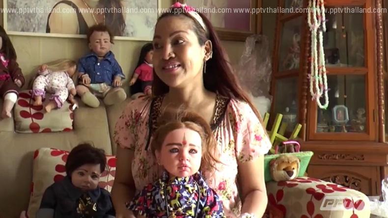 """เปิดบ้านแม่ผู้กำเนิด """"ตุ๊กตาลูกเทพ"""" ศรัทธาหรืองมงาย? (คลิป)"""