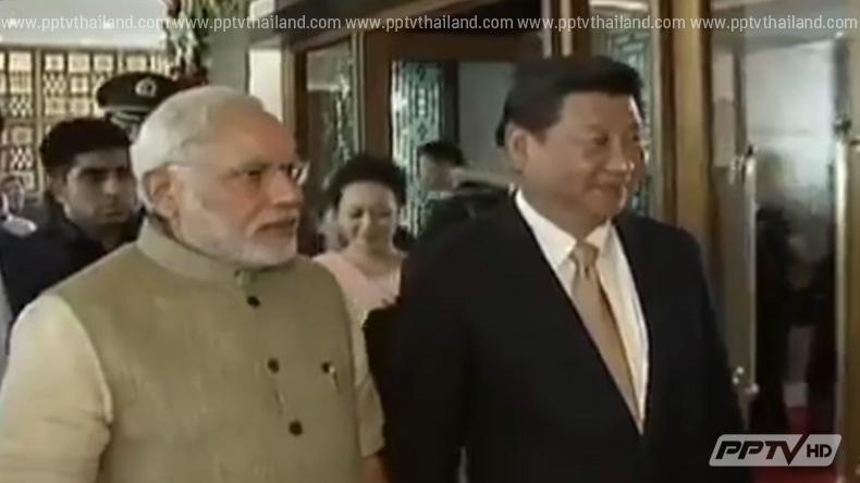 นายกฯอินเดียเยือนจีน กระชับสัมพันธ์ทางเศรษฐกิจ