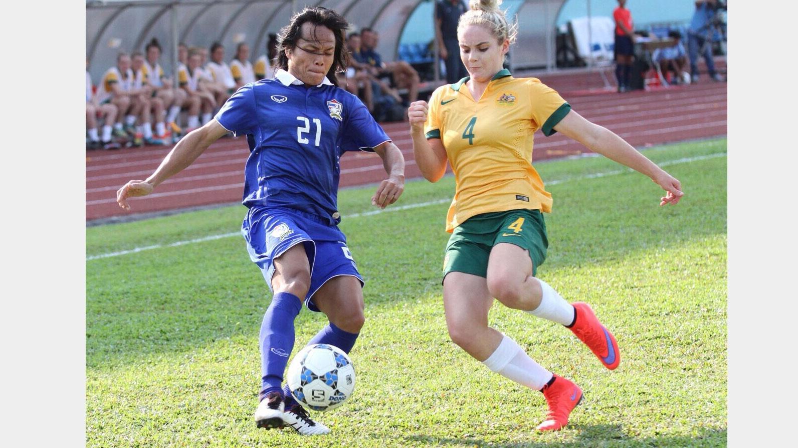 บอลหญิงทีมชาติไทย พ่าย ออสเตรเลีย เผยเสียจุดโทษบุกไม่ขึ้น