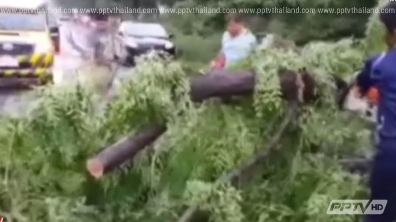 พายุฤดูร้อนกระหน่ำลพบุรี หญิงสาวถูกฟ้าผ่าเสียชีวิต 1 ราย