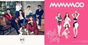 ' 2 PM - MAMAMOO ' จูงมือเฮ อัลบั้มใหม่ติดท็อปเท็นบิลบอร์ดชาร์ต