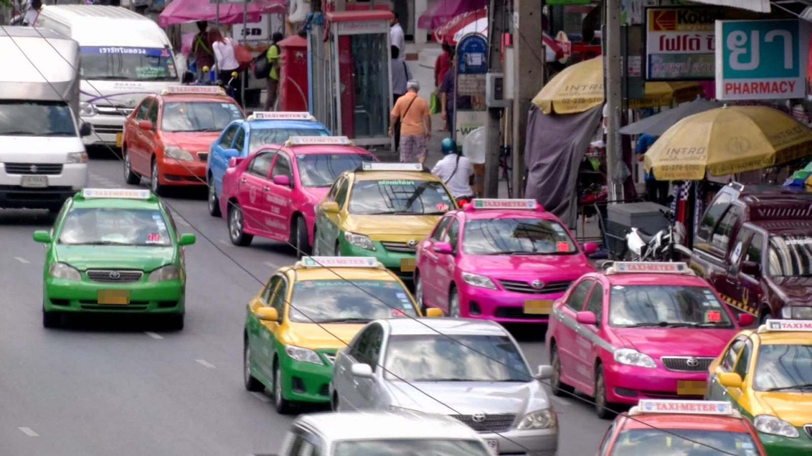 """""""สหกรณ์แท็กซี่"""" ค้าน! แก้กฏหมายเอื้อ """"อูเบอร์"""" รับ-ส่ง ปชช."""