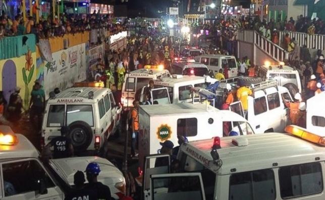 สยอง! ไฟดูดขบวนรถคาร์นิวัลในเฮติ เจ็บ-ตายเกือบ 70 คน