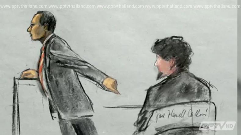 """ตัดสิน """"มือระเบิดบอสตันมาราธอน"""" ผิดจริงทุกข้อหา"""