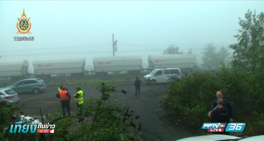 รถไฟชนกันในเบลเยียม ตาย 3 ราย