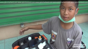 พบฮีโร่น้อย วัย 9 ขวบ อาสาทำงานกู้ภัยช่วยสังคม