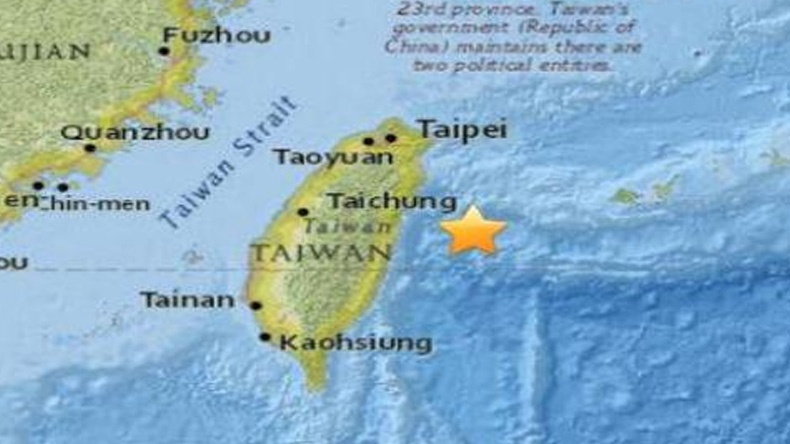 แผ่นดินไหวขนาด 6.6 เขย่าไต้หวัน