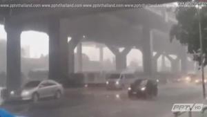 กรมอุตุฯเผย กทม.ฝนเพิ่มกระจายร้อยละ 60 ของพื้นที่