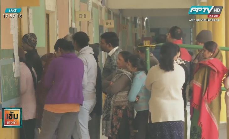 ชาวอินเดียร่วมเลือกตั้งสมาชิกสภานิวเดลี