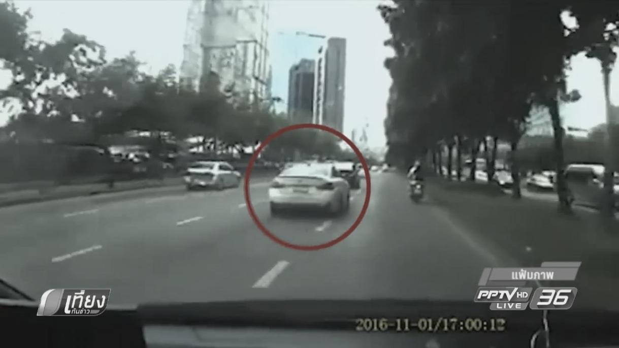 ตำรวจแจ้งข้อหาเน็ตไอดอล ขับรถโดยประมาท