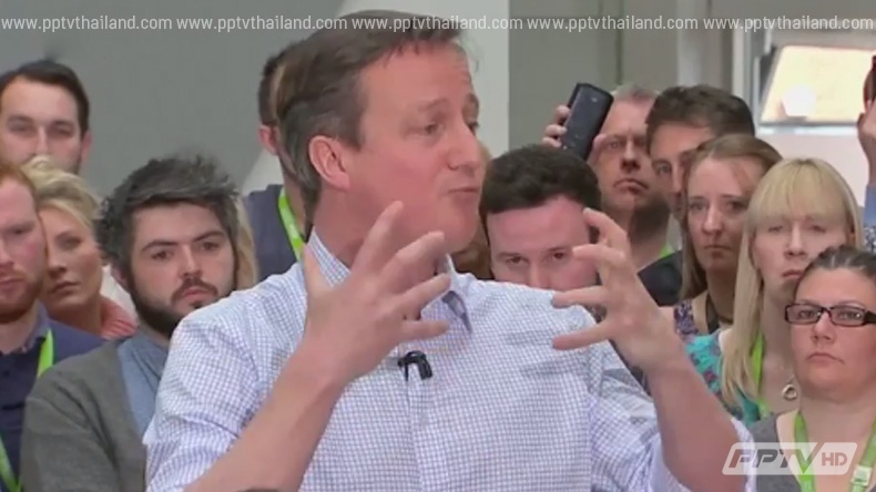 พรรคการเมืองอังกฤษโหมหาเสียงเลือกตั้งโค้งสุดท้าย