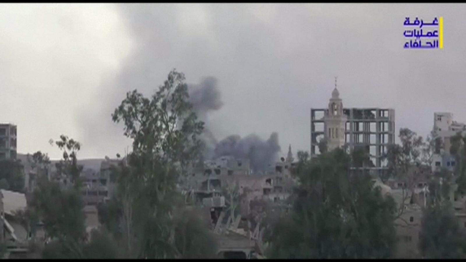 กองทัพซีเรีย ยึดที่มั่นสุดท้ายของกลุ่มไอเอสสำเร็จ