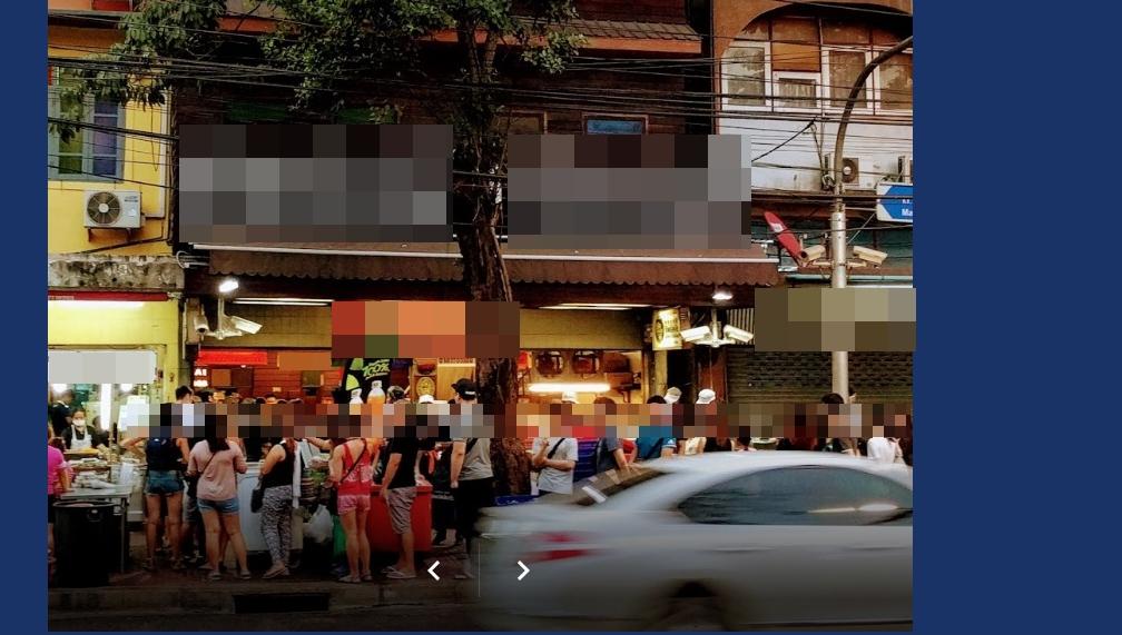 โวย! ร้านอาหารยึดทางเท้า ชาวเน็ตประชดห่างศาลาว่าการกทม.ตั้ง 300 ม.
