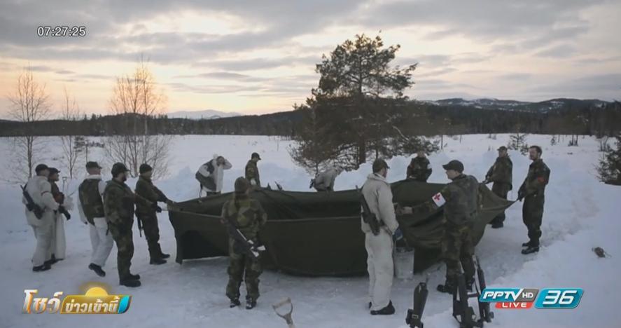 สวีเดนรื้อฟื้นระเบียบการเกณท์ทหาร