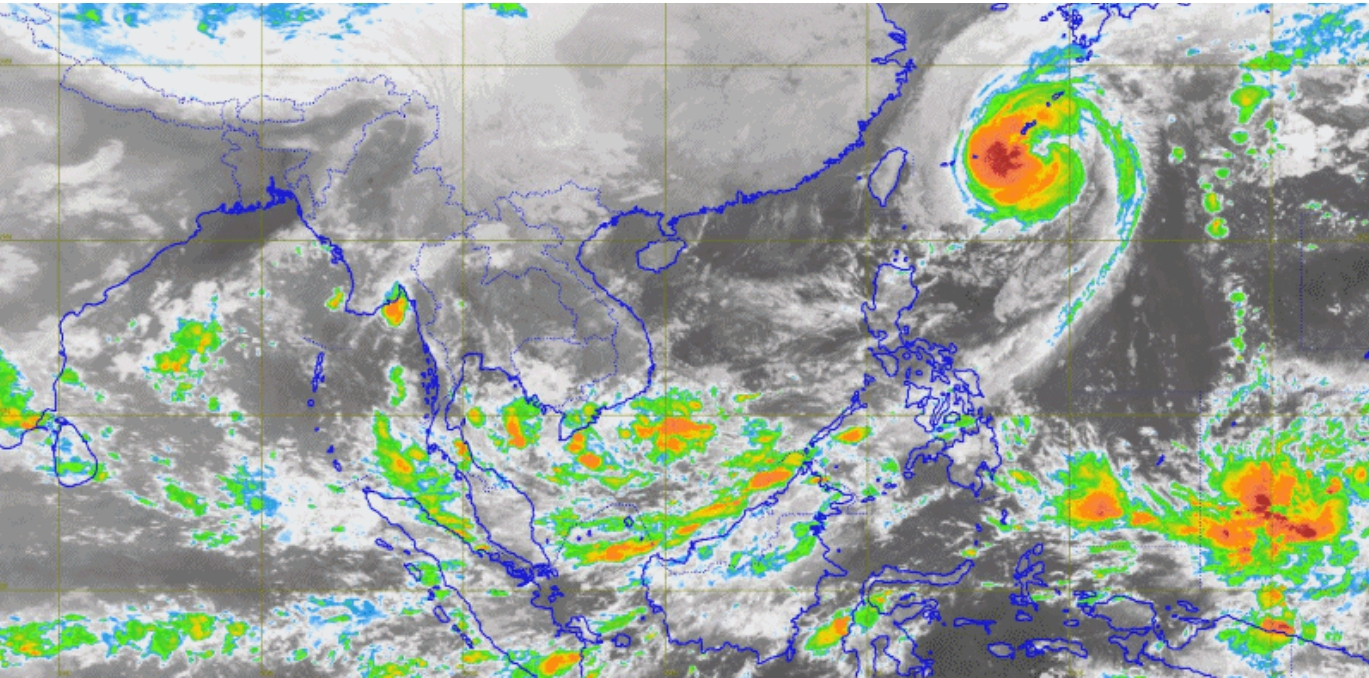 กรมอุตุฯ เตือนภาคใต้ 1-3 พ.ย.60 ฝนตกหนักถึงหนักมาก
