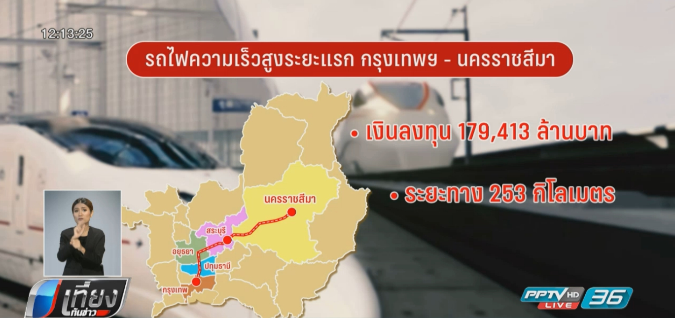 รถไฟความเร็วสูง กรุงเทพ-โคราช คุ้มค่าหรือไม่?