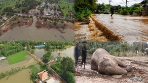 เกาะติดสถานการณ์น้ำลพบุรี-เพชรบูรณ์-มหาสารคาม-พิษณุโลก