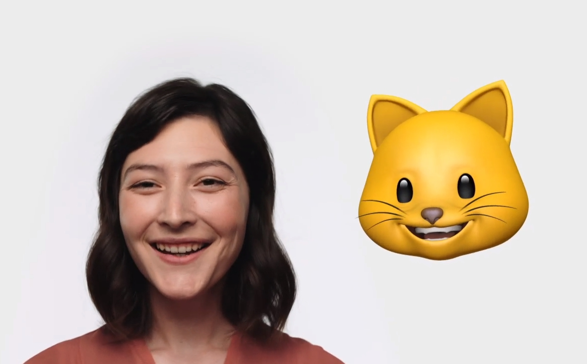 """""""แอนนิโมจิ"""" ลูกเล่นใหม่ """"iPhone X"""" เลียนแบบใบหน้าเคลื่อนไหว"""