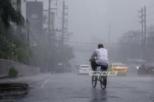 อุตุฯ เตือน กทม.ฝนตกร้อยละ 60 ของพื้นที่