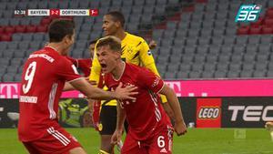 บาเยิร์น มิวนิค เฉือนชนะ โบรุสเซีย ดอร์ทมุนด์ 3-2 คว้าเเชมป์เดเอฟแอล ซูเปอร์คัพ 2020