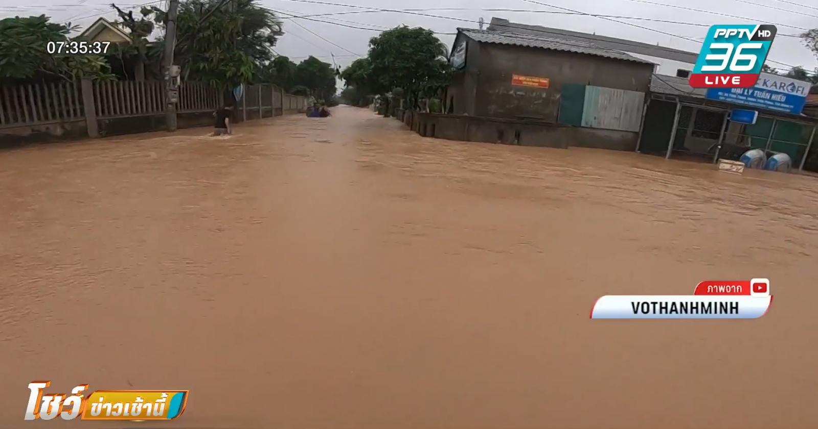 พายุถล่มเวียดนาม-กัมพูชา  เสียชีวิตแล้วเกือบ 30 คน