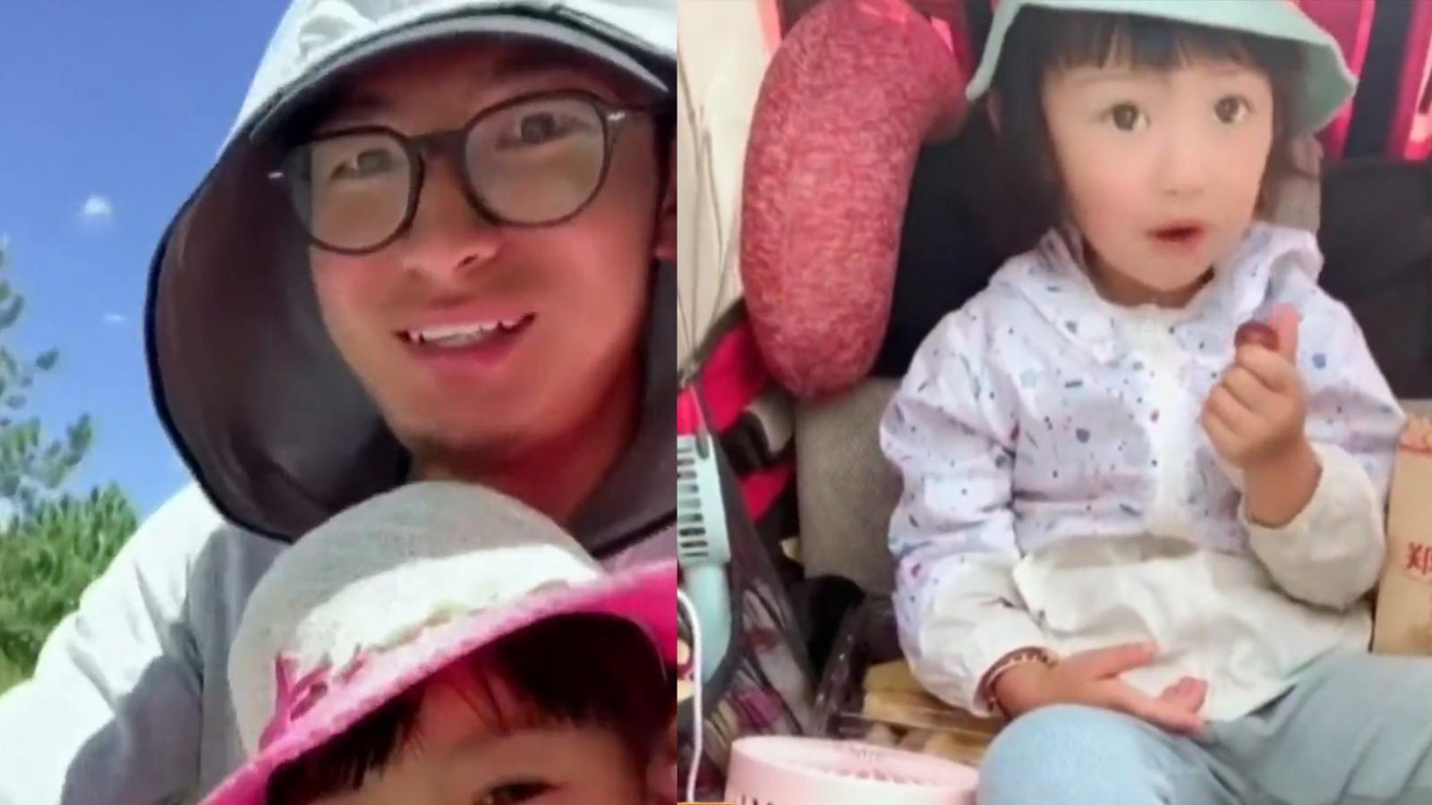 คุณพ่อชาวจีน ปั่นจักรยานไปทิเบตพร้อมลูกสาววัย 4 ขวบ