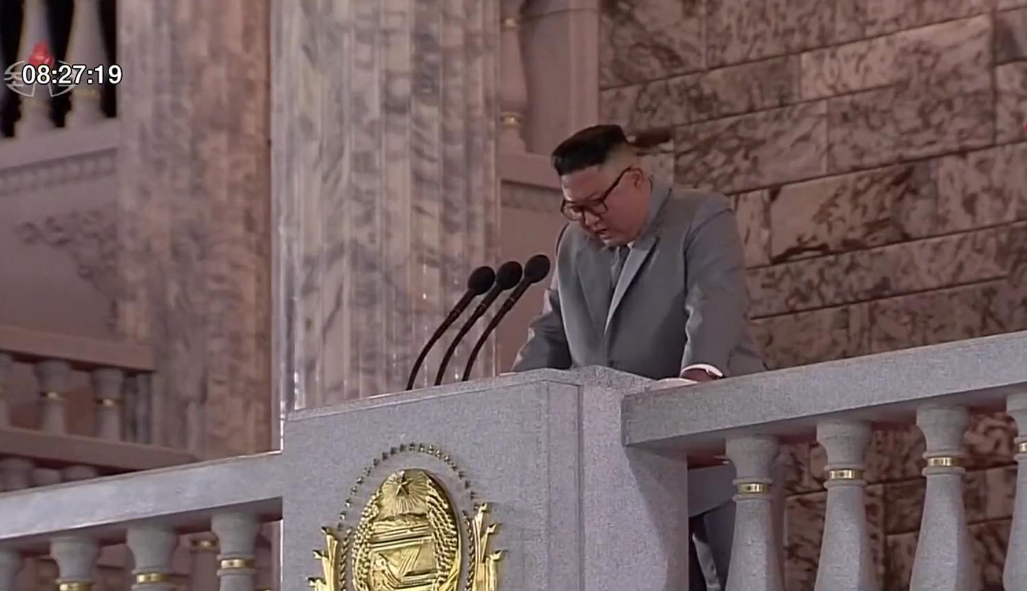 """""""คิม จองอึน""""หลั่งน้ำตาขอโทษประชาชน"""