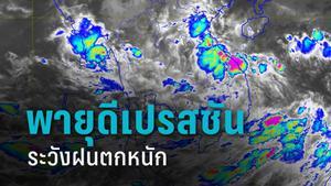 กรมอุตุฯ เผย พายุดีเปรสชัน จ่อเข้าเวียดนาม เตือน 52 จังหวัด ระวังฝนตกหนัก 16-17 ต.ค.