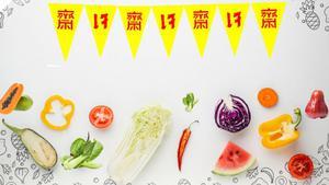 กินเจปีนี้! กรมอนามัย ชวนกินผัก-ผลไม้ 5 สีเพื่อสุขภาพดี