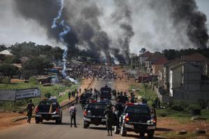 ระอุ! รบ.ไนจีเรีย สั่งเคอร์ฟิว 24 ชม. หลังทหารยิงผู้ประท้วง เจ็บอื้อ