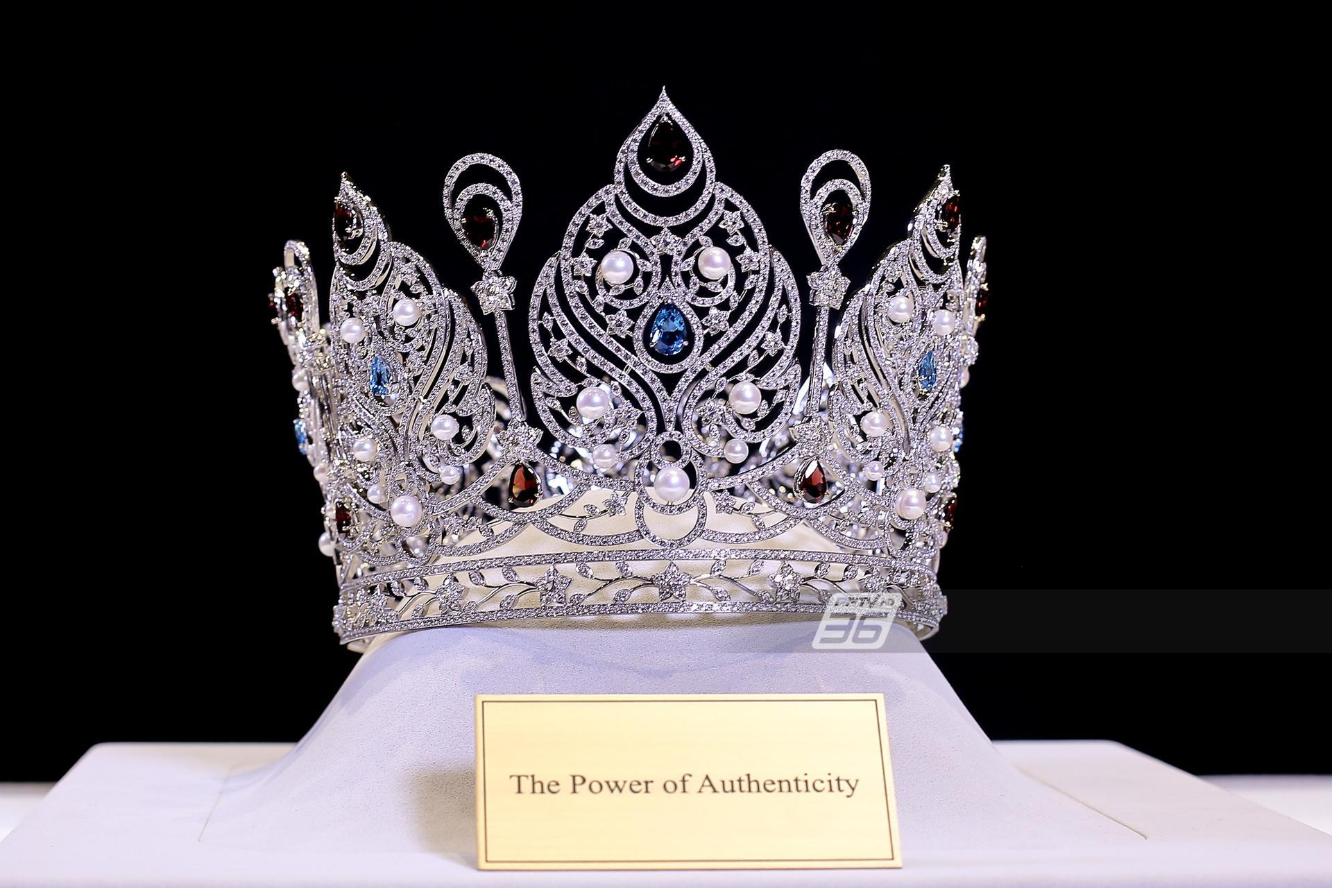 เผยโฉมมงกุฎเพชร Miss Universe Thailand 2020